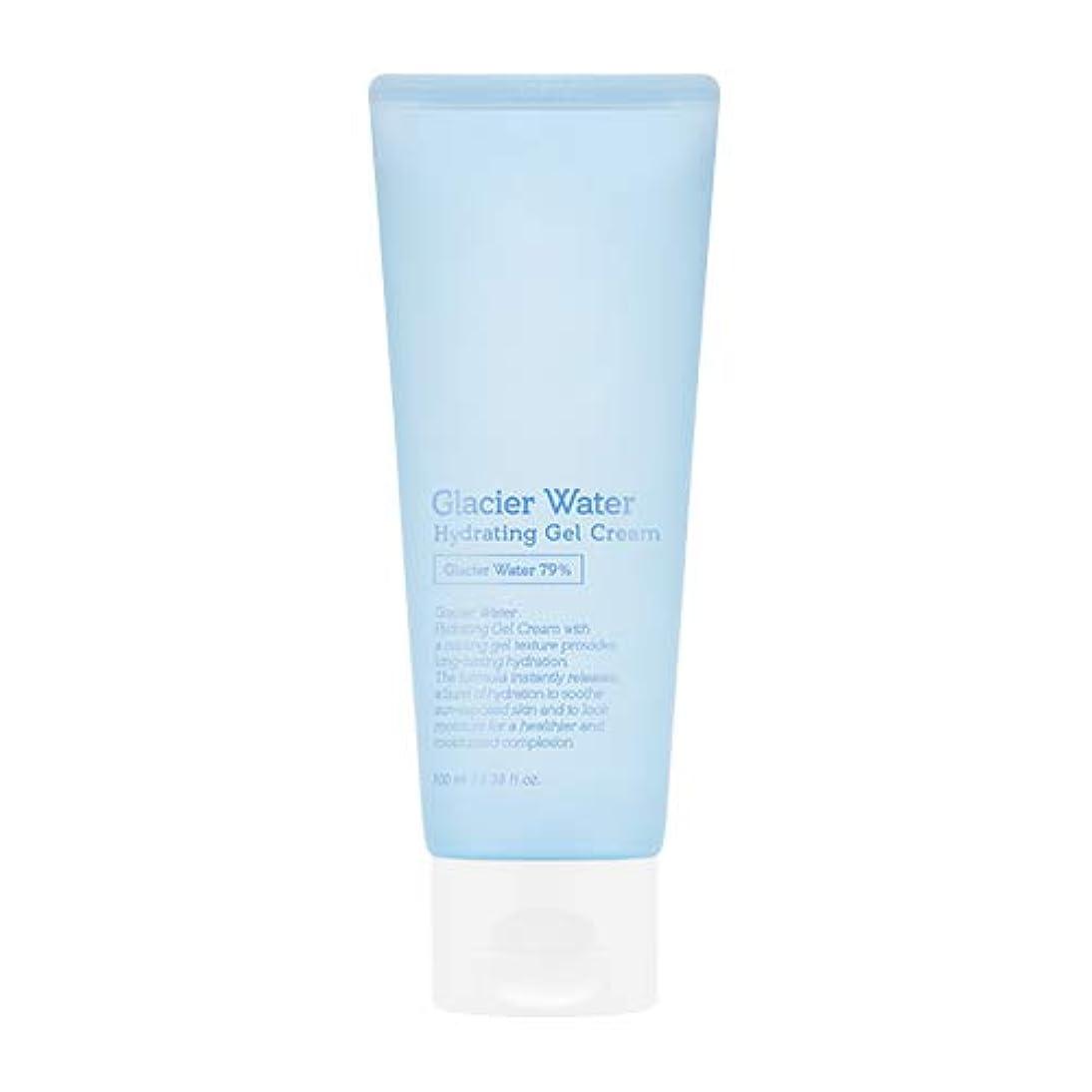 商人閉塞火曜日アピュ 氷河水 ハイドレーティングゲルクリーム [大容量] / A'PIEU Glacier Water Hydrating Gel Cream 100ml [並行輸入品]