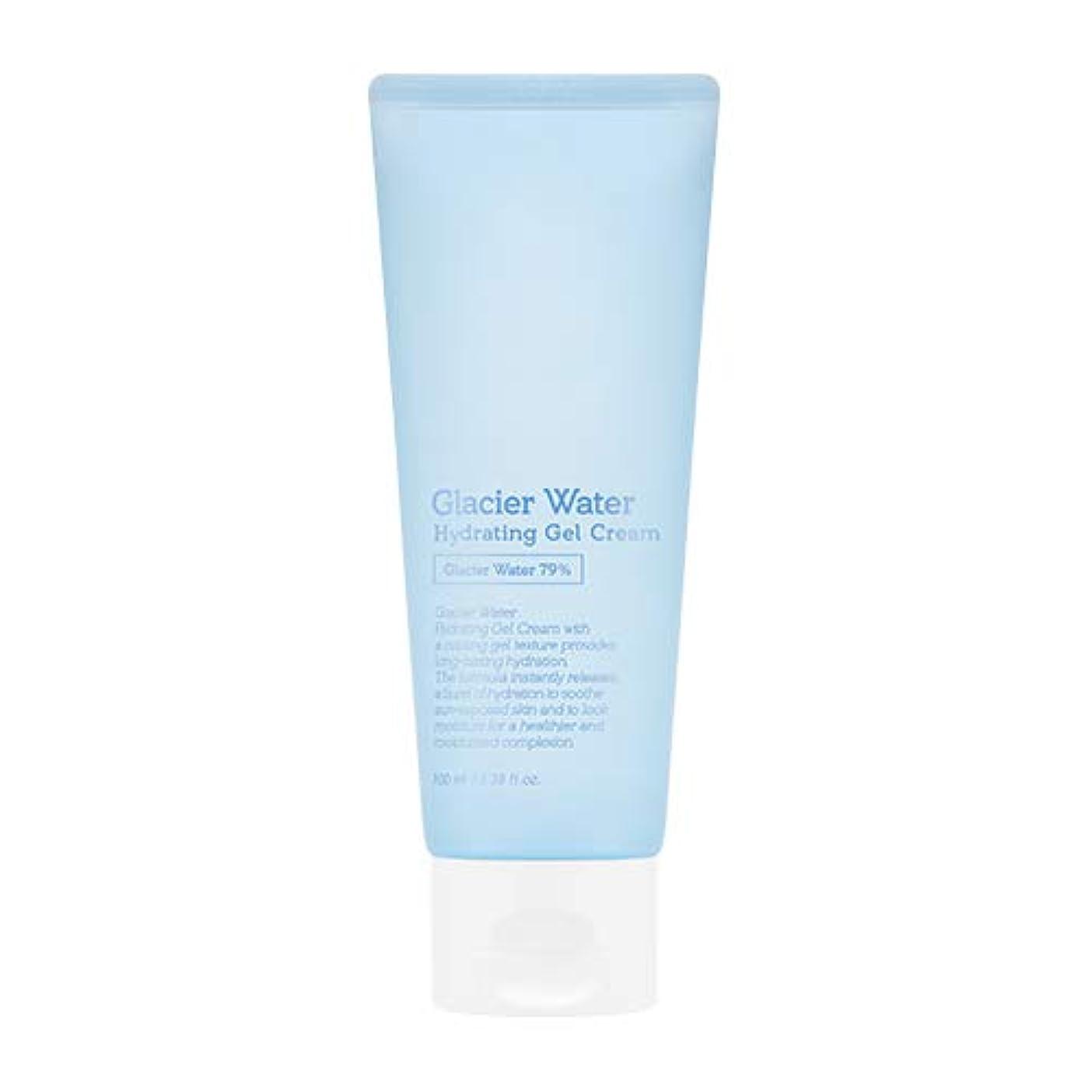 許容詩人終わりアピュ 氷河水 ハイドレーティングゲルクリーム [大容量] / A'PIEU Glacier Water Hydrating Gel Cream 100ml [並行輸入品]