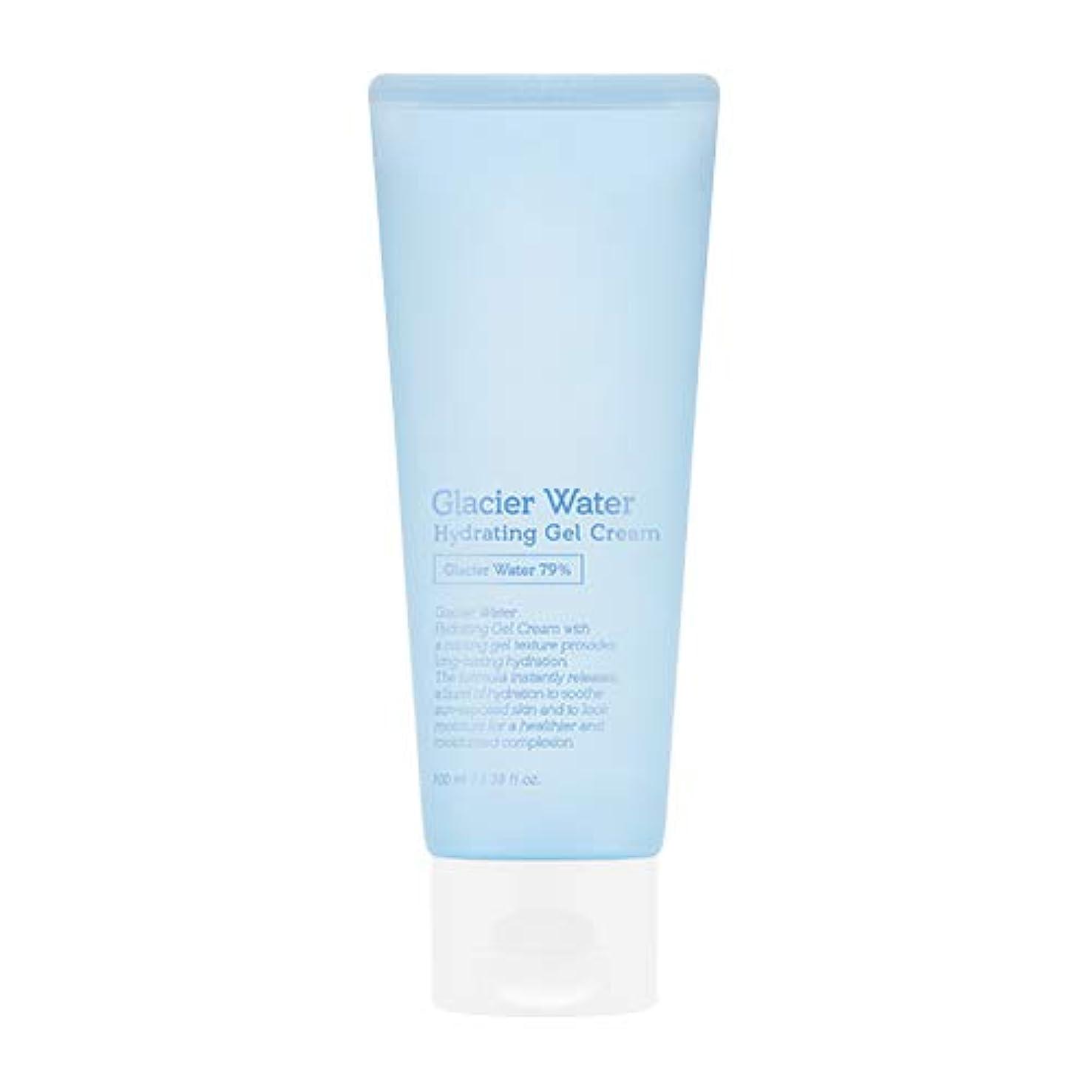 巻き取り確認摂氏度アピュ 氷河水 ハイドレーティングゲルクリーム [大容量] / A'PIEU Glacier Water Hydrating Gel Cream 100ml [並行輸入品]
