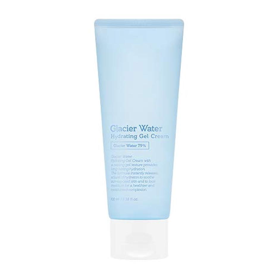 思慮深いスカーフ公アピュ 氷河水 ハイドレーティングゲルクリーム [大容量] / A'PIEU Glacier Water Hydrating Gel Cream 100ml [並行輸入品]