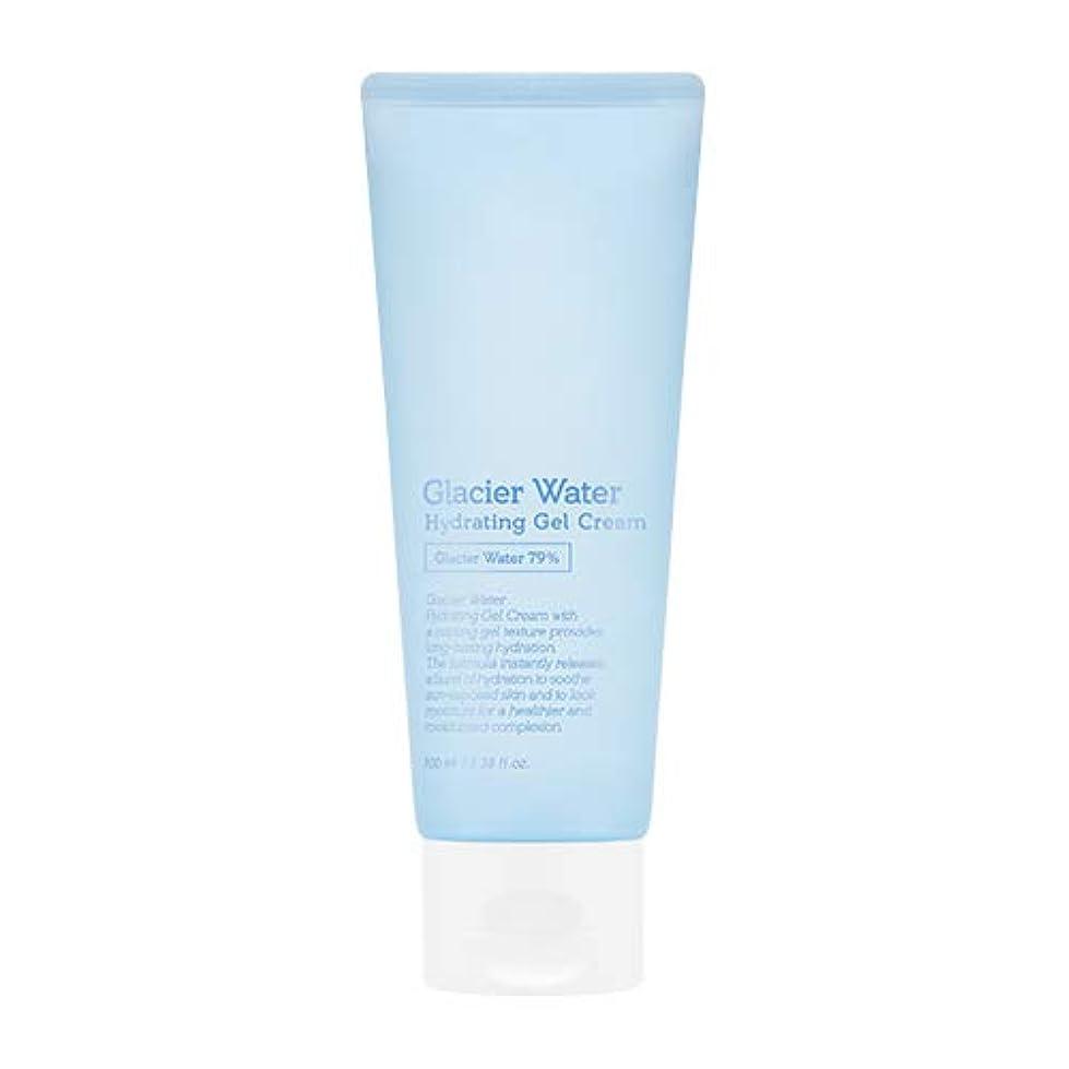 と闘うにぎやかシャッターアピュ 氷河水 ハイドレーティングゲルクリーム [大容量] / A'PIEU Glacier Water Hydrating Gel Cream 100ml [並行輸入品]