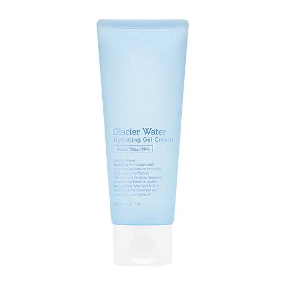 粒子アレルギー性セットアップアピュ 氷河水 ハイドレーティングゲルクリーム [大容量] / A'PIEU Glacier Water Hydrating Gel Cream 100ml [並行輸入品]