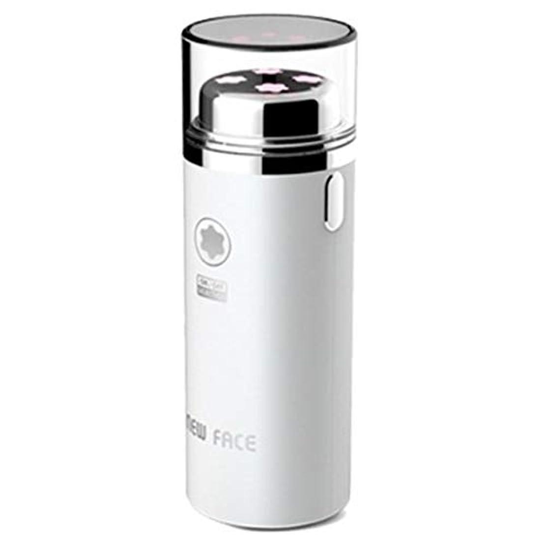 階段異議インストラクターエラニューフェイスガルバニックマイクロ振動イオンスキンマッサージャーEFM-2500ホワイト Elra New Face Galvanic Micro Vibration Ion Skin Massager EFM-2500...