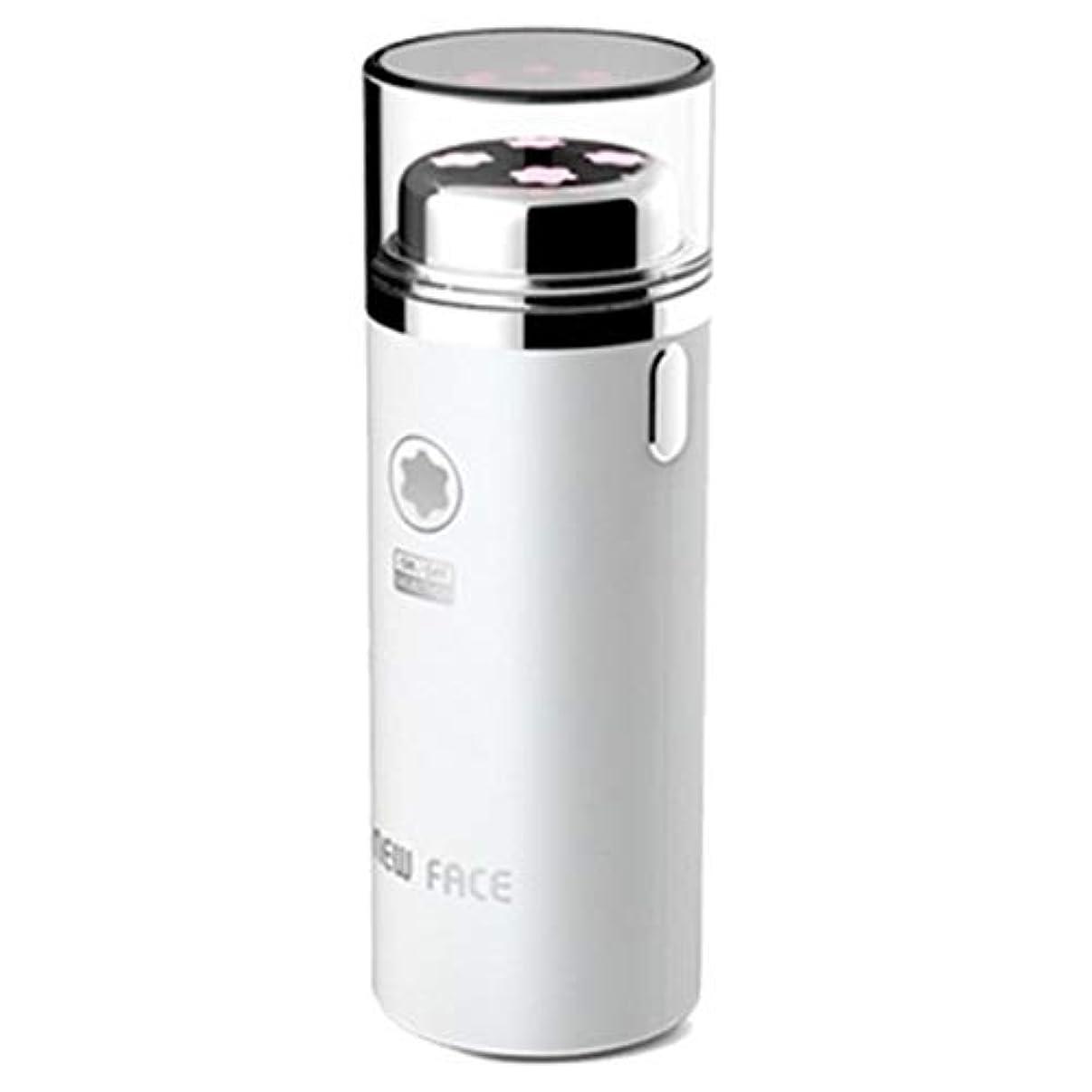 割り当て窓お手入れエラニューフェイスガルバニックマイクロ振動イオンスキンマッサージャーEFM-2500ホワイト Elra New Face Galvanic Micro Vibration Ion Skin Massager EFM-2500...
