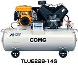 アネスト岩田 コンプレッサ レシプロ:給油式 TLUE22B-14S (セル付) オイル式 出張作業用エンジン駆動