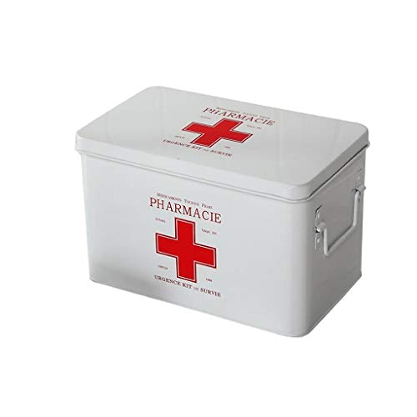 はげ固執反対する救急箱 医療箱の救急箱の薬剤の収納箱家の医療キットの薬の収納箱 Xuan - worth having (Color : White)