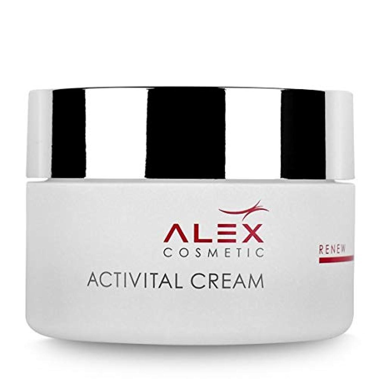 固体偶然の天のAlex Cosmetic アレックス コスメ Activital Cream アクティバイタル クリーム 50ml【並行輸入品】