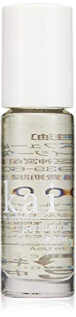 気づかないコマース創傷kai fragrance(カイ フレグランス) ローズ パフュームオイル 3.6ml