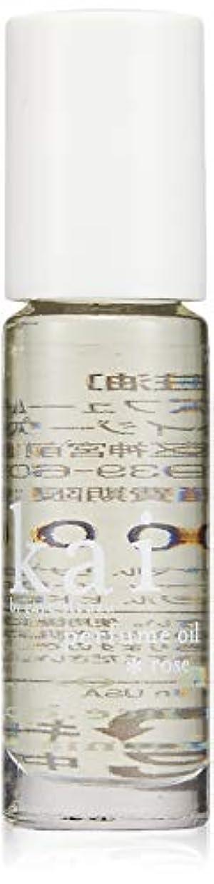 格納寝るベッドを作るkai fragrance(カイ フレグランス) ローズ パフュームオイル 3.6ml
