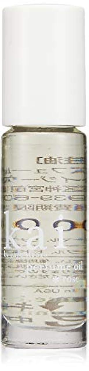 おしゃれじゃないふつう彼のkai fragrance(カイ フレグランス) ローズ パフュームオイル 3.6ml