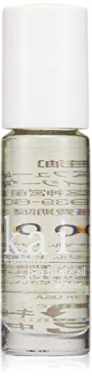 眉をひそめる辞書ボトルkai fragrance(カイ フレグランス) ローズ パフュームオイル 3.6ml