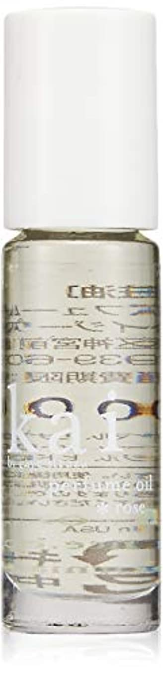探検職人かき混ぜるkai fragrance(カイ フレグランス) ローズ パフュームオイル 3.6ml