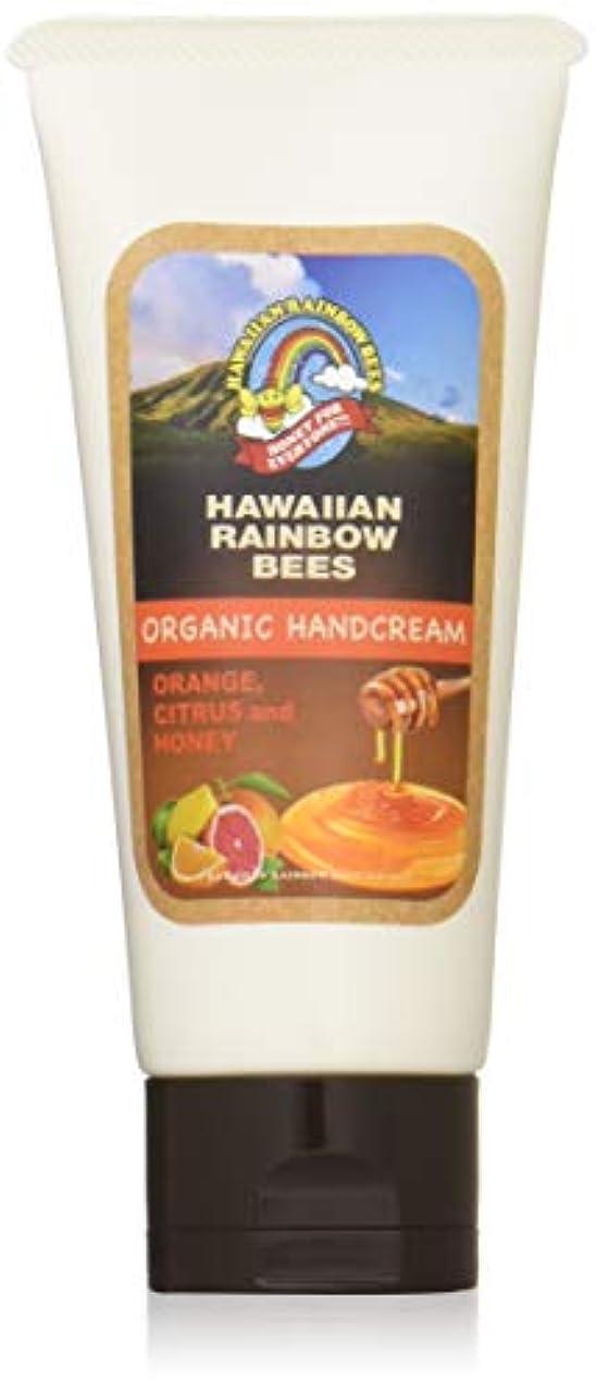 ドラフト必要条件太鼓腹ハワイアンレインボービーズ オーガニックハンドクリーム OC 60g 72123042