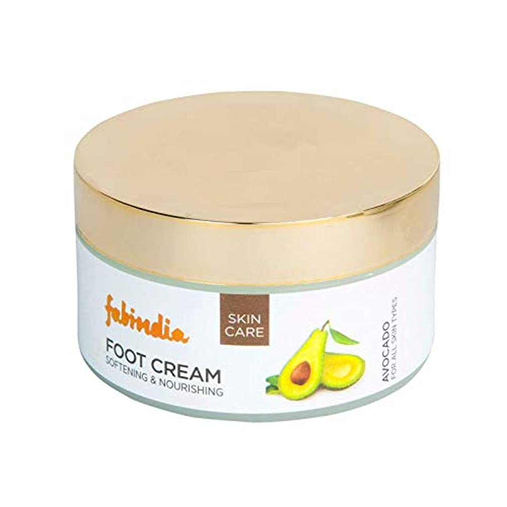 曲げる複雑成果Fabindia Avocado Foot Cream 100ml
