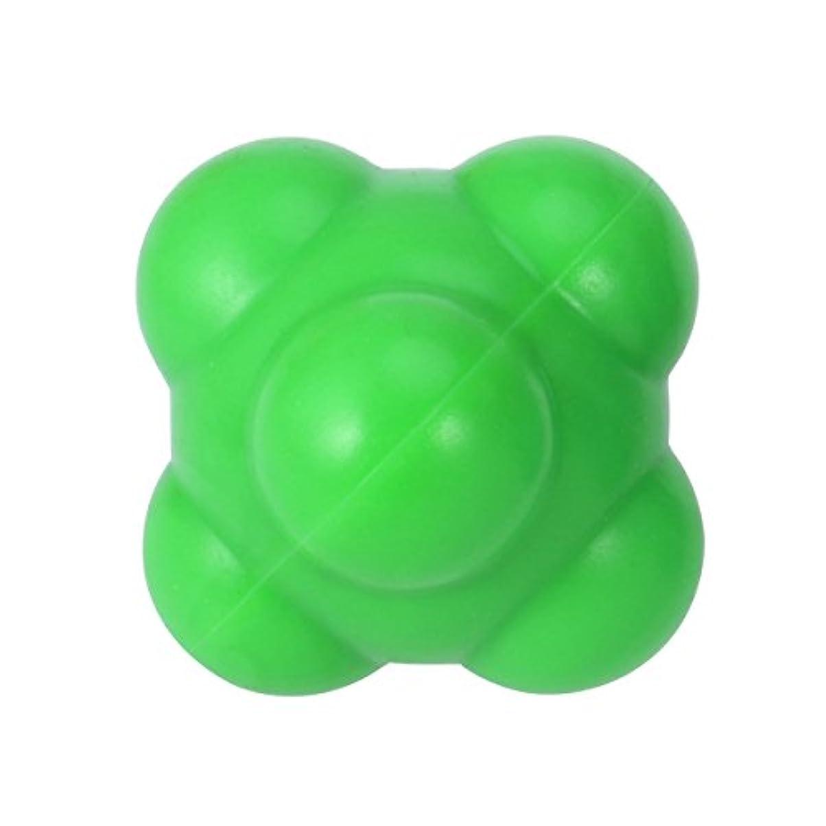 真実道徳の宿るSUPVOX 反応ボール 敏捷性とスピードハンドアイ調整(グリーン)