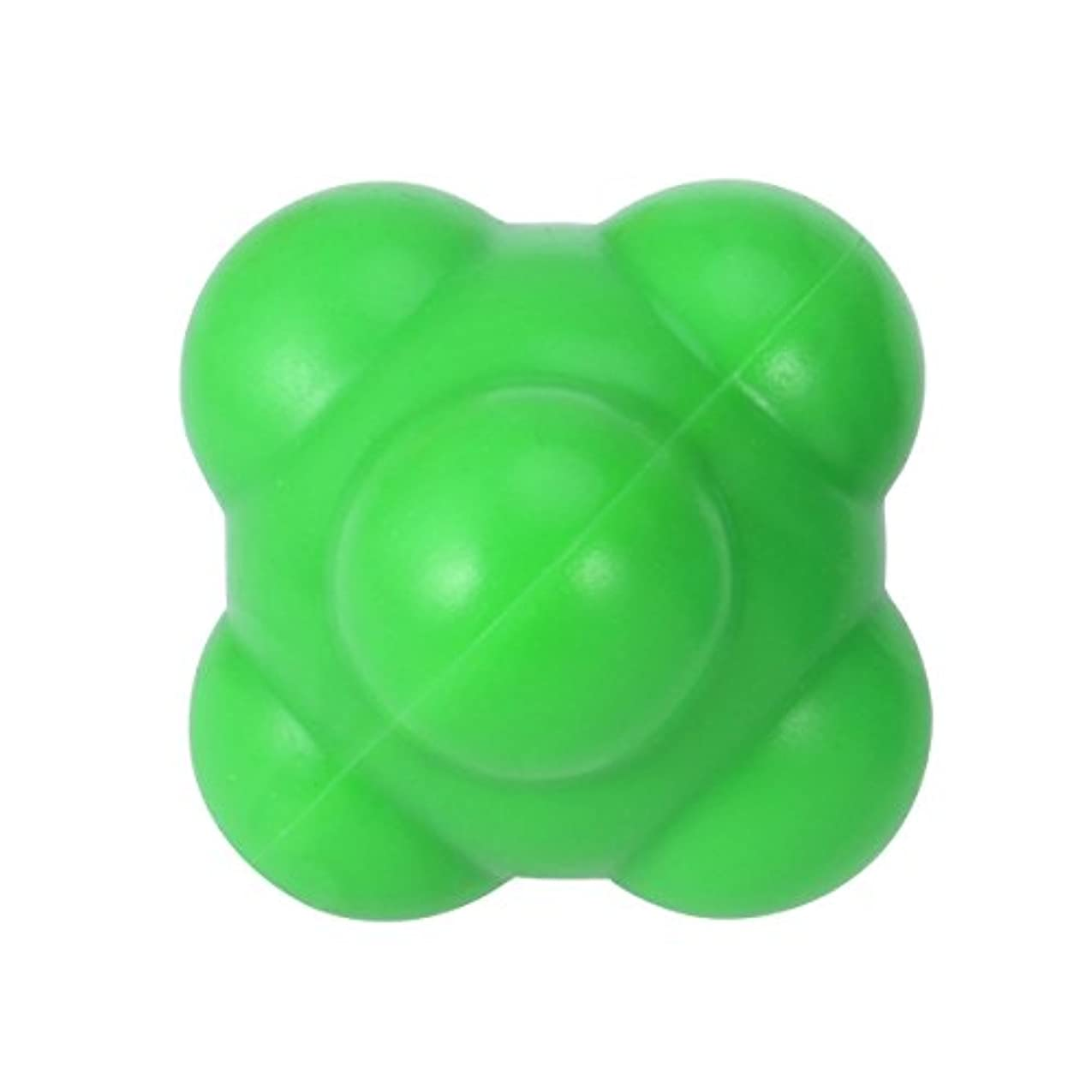 パラメータ怠けた泥SUPVOX 反応ボール 敏捷性とスピードハンドアイ調整(グリーン)