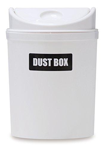 [해외]伊勢藤 원형 더스트 박스 화이트 I-421/Iseuto round type dust box white I-421