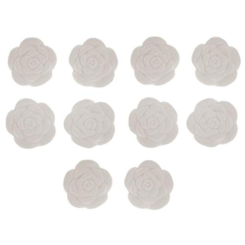 ブレイズ複合寄り添うIPOTCH アロマストーン 花形 10個 トイレ用 車用 オフィス用 寝室用 10個入り 高品質