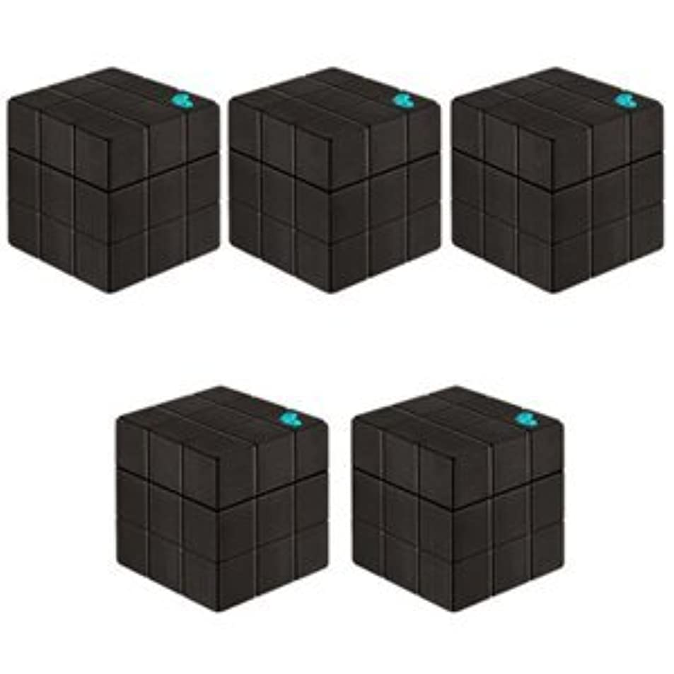 学期相手ポンプ【X5個セット】 アリミノ ピース プロデザインシリーズ フリーズキープワックス ブラック 80g ARIMINO