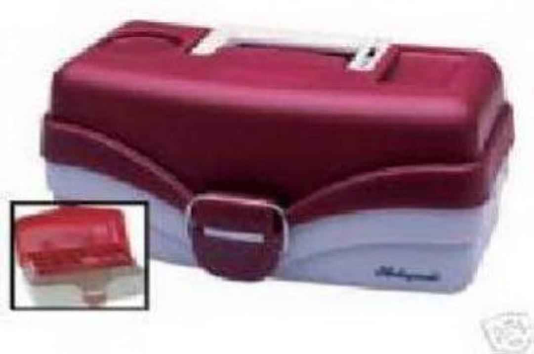 リマークメイト豊富モールディング620106 Planoタックルボックス、1 -トレイ、赤メタリック/オフホワイト