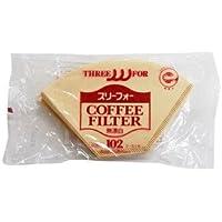 三洋産業 THREE FOR (スリーフォー) コーヒーフィルター EBシリーズ 3~5人用 40枚 EB-102-40