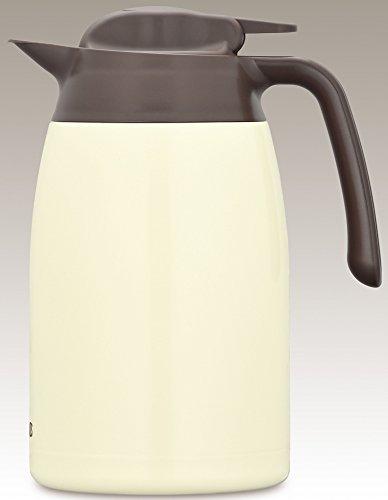 サーモス ステンレスポット 1.5L クッキークリーム THV-1501 CCR