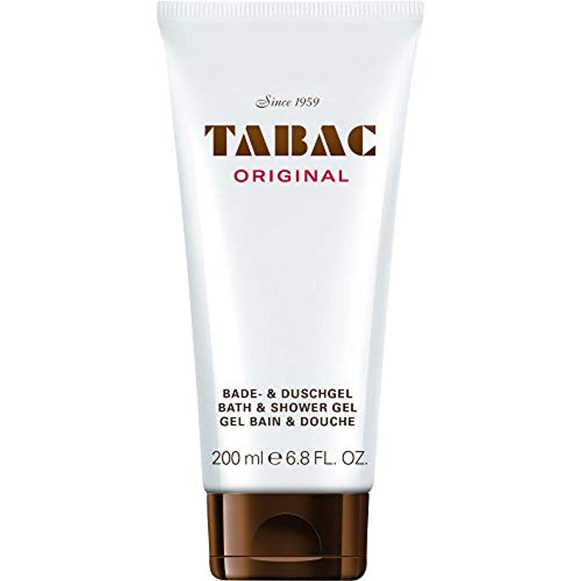 アクションホバートなかなか[TABAC] Tabacオリジナルバス&シャワージェル200Ml - TABAC Original Bath & Shower Gel 200ml [並行輸入品]