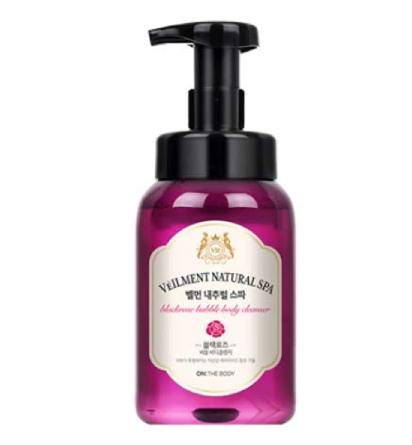 結婚クルー俳優[LG HnB] On the Body Belman Natural Spa Bubble Body Cleanser/オンザボディベルモンナチュラルスパバブルボディクレンザー 500ml x2個(海外直送品)