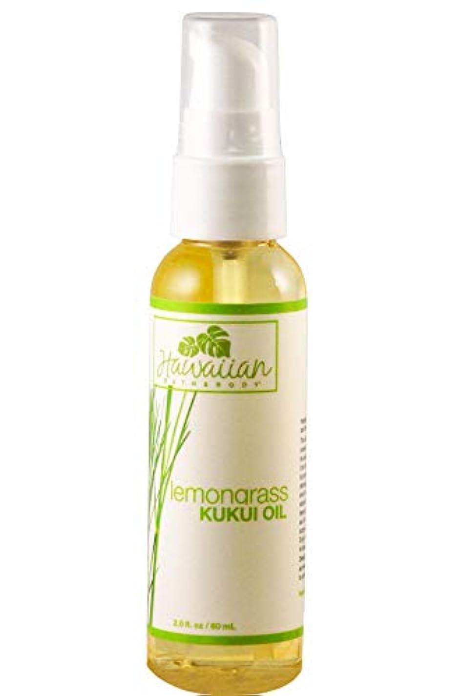 サイドボード静脈斧ハワイアンバス&ボディ ククイオイル ?レモングラス Lemongrass Kukui Nut Oil 60ml