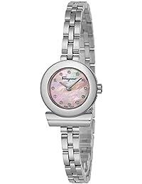 [サルヴァトーレフェラガモ]Salvatore Ferragamo 腕時計 ガンチーニブレスレットダイヤ ピンクパール文字盤 SFBF00118 レディース 【並行輸入品】