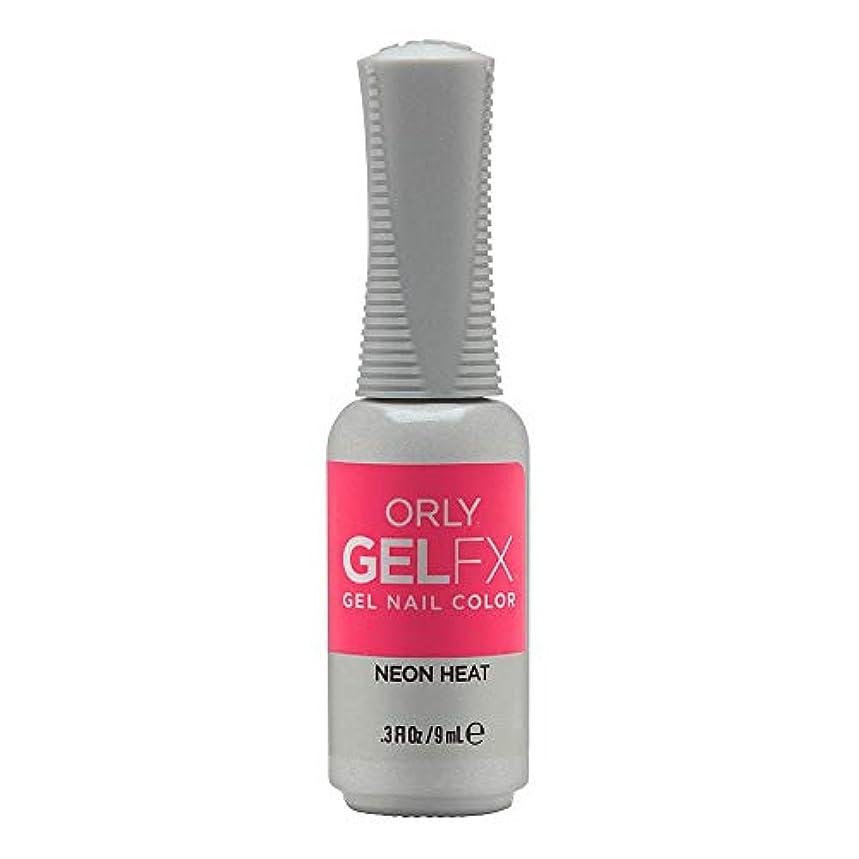 ポルティコミサイル再生Orly GelFX Gel Polish - Neon Heat - 0.3oz/9ml