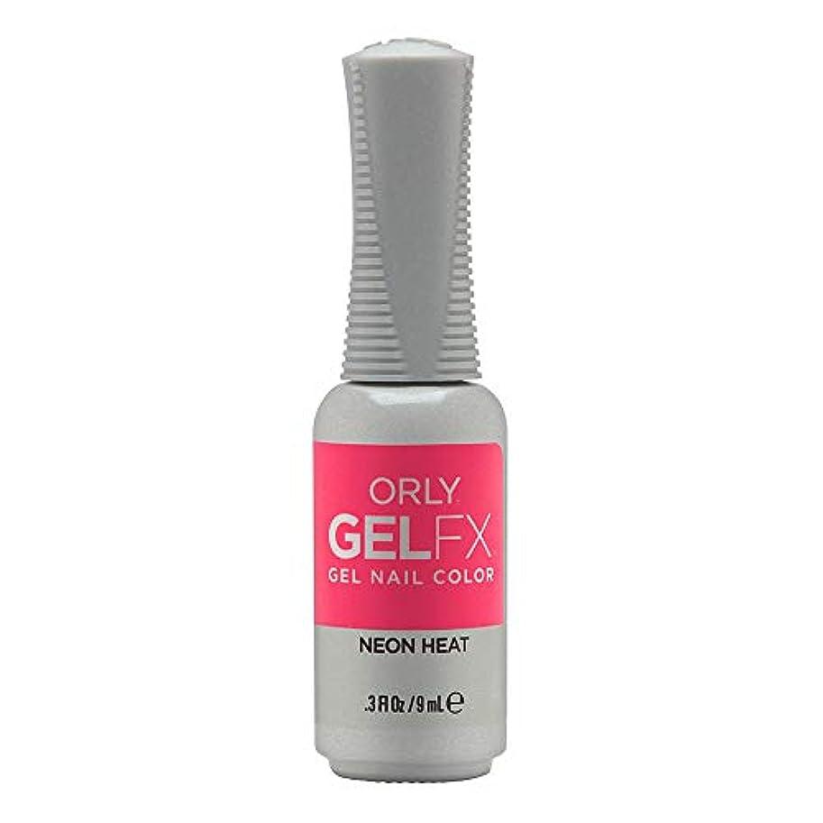 精度幸運なトラブルOrly GelFX Gel Polish - Neon Heat - 0.3oz/9ml