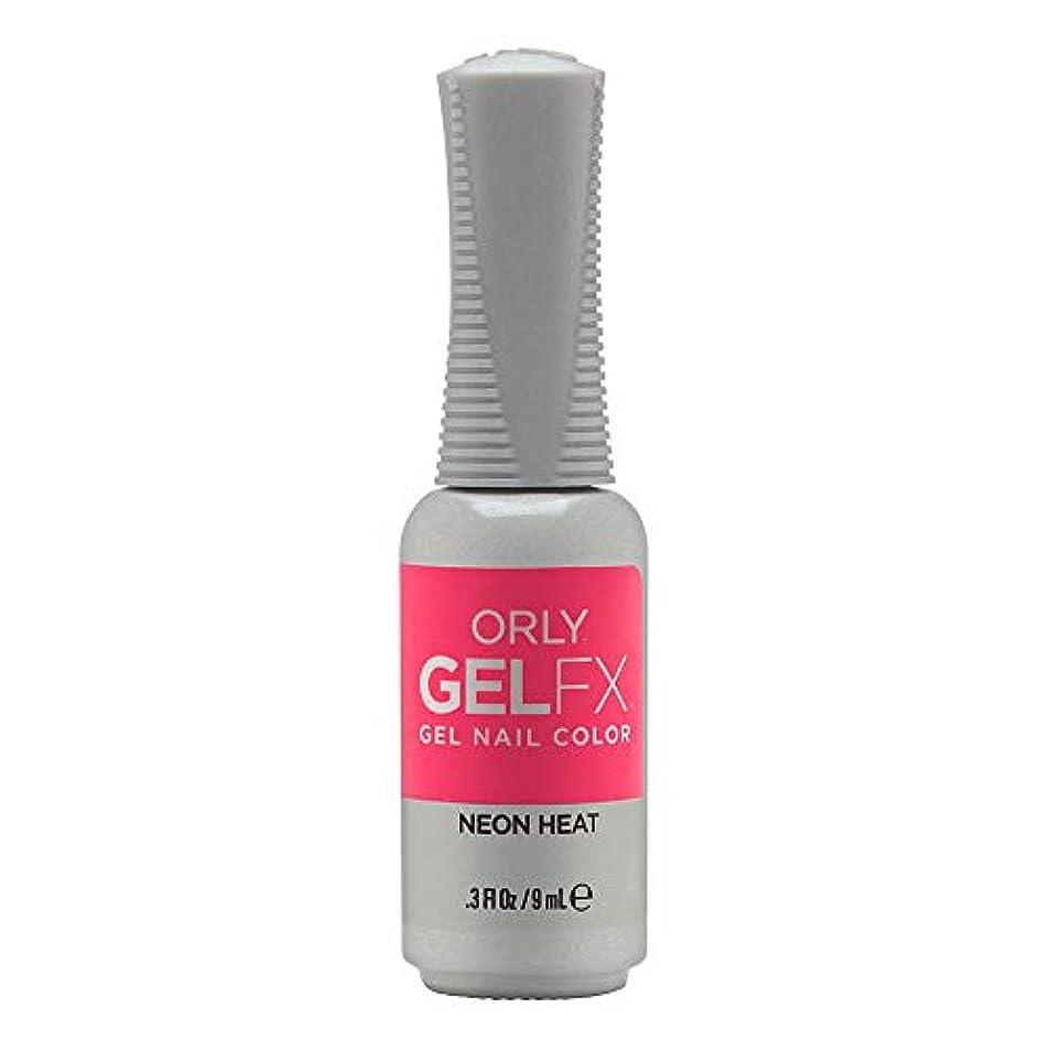 ブームブラウンすずめOrly GelFX Gel Polish - Neon Heat - 0.3oz/9ml