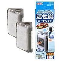ジェックス コーナーパワーフィルターF1/F2共通 活性炭カートリッジ お徳用 ( 2コ入 )x3個セット
