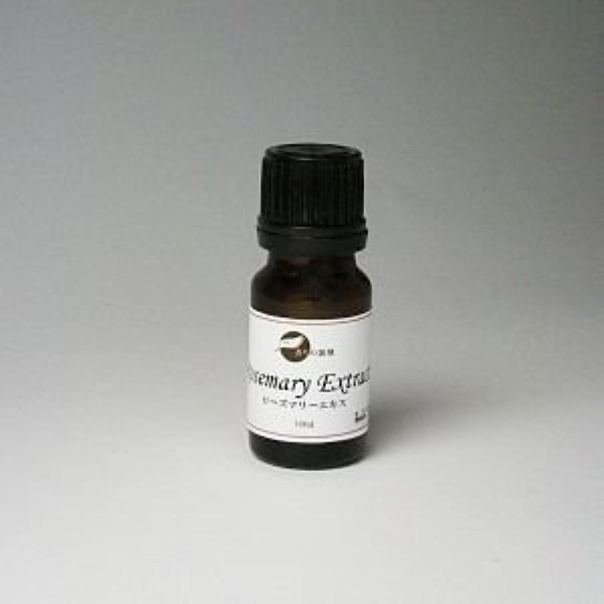 モジュールにやにや関与する[化粧品原料:天然保存料?酸化防止剤] 優れた抗酸化作用 ローズマリーエキス 10ml