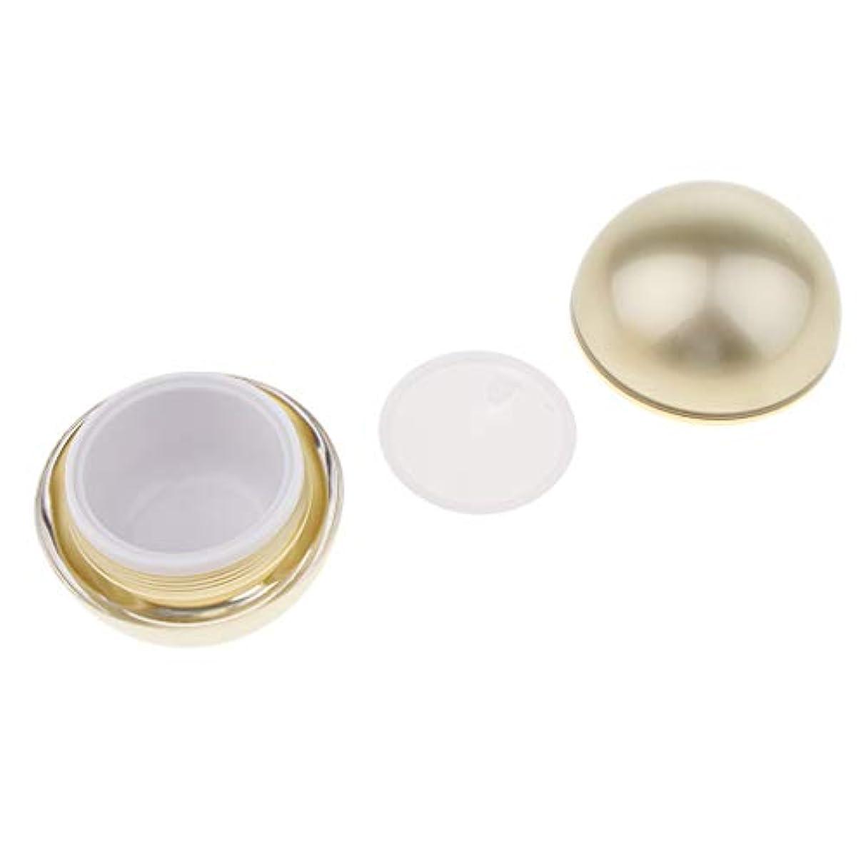 Toygogo 化粧品 容器 クリーム容器 ボール型 空ポット 化粧ジャー 詰め替え式 3サイズ選べ - 50g