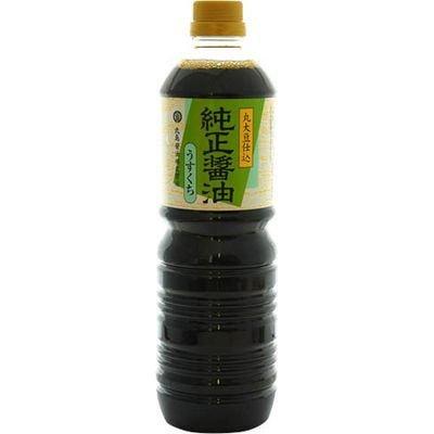 丸島醤油 純正醤油 うすくち 1000ml
