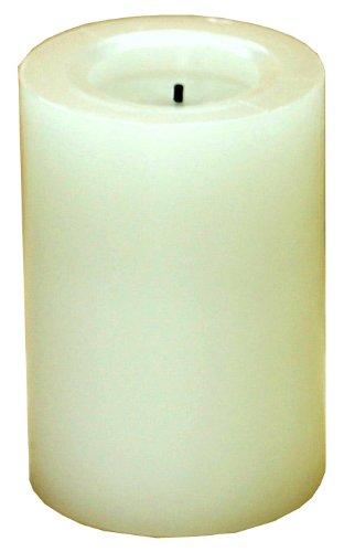 キャンドルインプレッションズ LED キャンドル ライト 電池式 フレイムレス ラベンダー&カモマイル グレー CA23503-PU