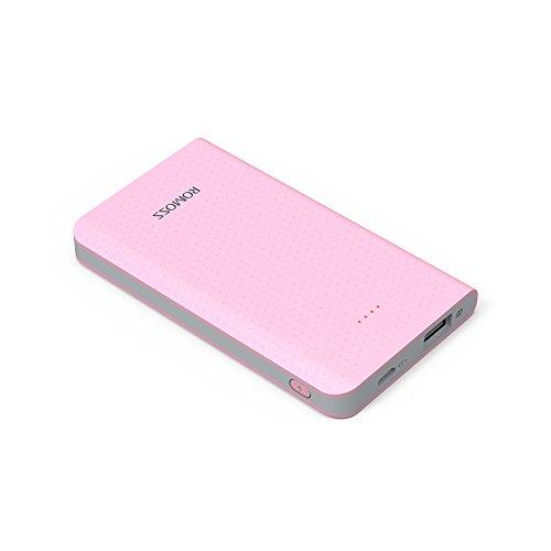ROMOSS モバイルバッテリー 5000mAh 軽量 2ポ...