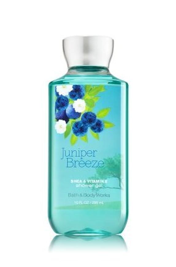【Bath&Body Works/バス&ボディワークス】 シャワージェル ジュニパーブリーズ Shower Gel Juniper Breeze 10 fl oz / 295 mL [並行輸入品]