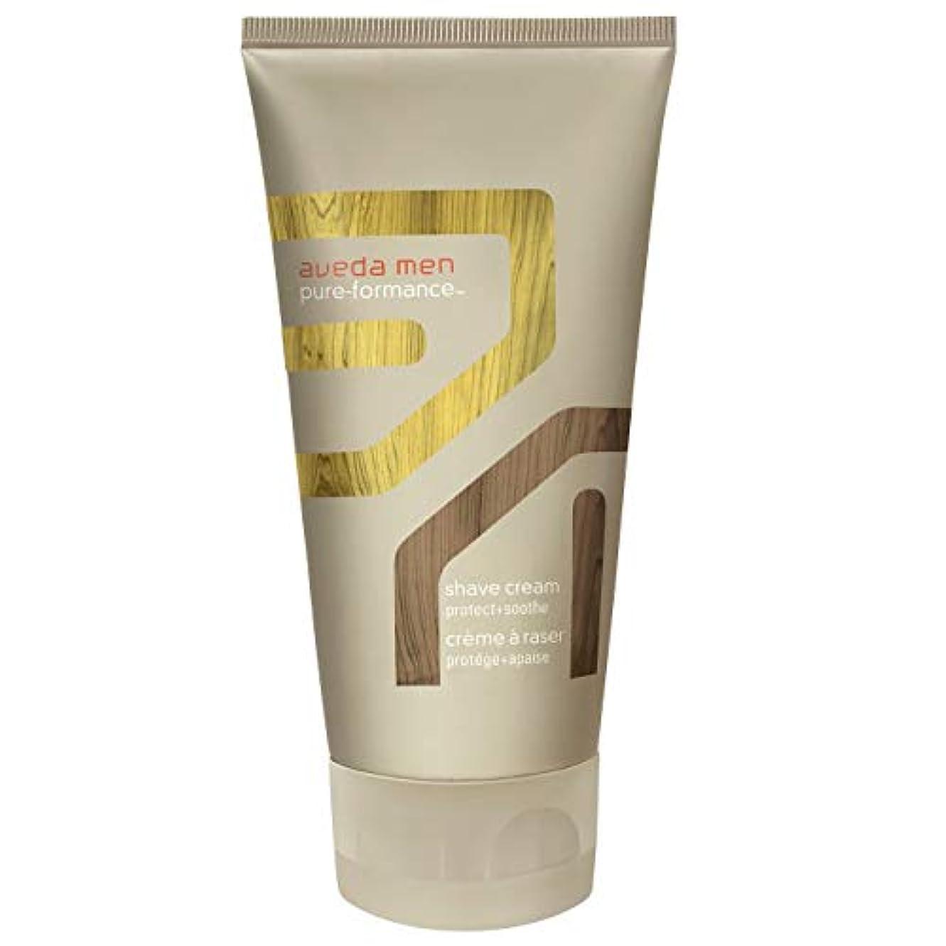 キャンプすり減る振る舞い[AVEDA] アヴェダ男性の純粋な-Formanceシェーブクリーム150ミリリットル - Aveda Men Pure-Formance Shave Cream 150ml [並行輸入品]