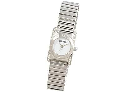 (フォリフォリ) Folli Follie 時計 22mm レディース 腕時計 ホワイト シルバー ステンレススチール クリスタルガラス wf8a042bpwxx ブランド 並行輸入品