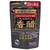 【6点セット】オリヒロ 香醋カプセル徳用 216粒