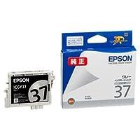 (まとめ) エプソン EPSON インクカートリッジ グレー ICGY37 1個 【×4セット】 〈簡易梱包