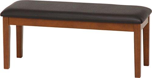 不二貿易 ダイニングベンチ スノア 幅100cm 天然木 ブラウン 96785