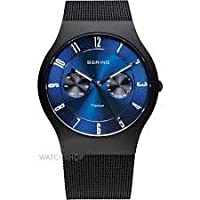 Bering TimeメンズクラシックコレクションWatch with Mesh Band and scratch resistantサファイアクリスタル。デンマークの設計。11939–078by Bering