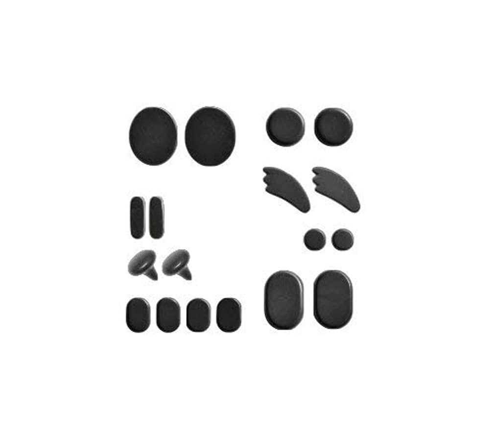 イタリアのマーティンルーサーキングジュニア発送ホットストーン フェイシャルセット 成形 玄武岩 フォンタナ [ ホット ストーン ストーンヒーター スパ ロミロミ ハワイ ハワイアン マッサージ ]