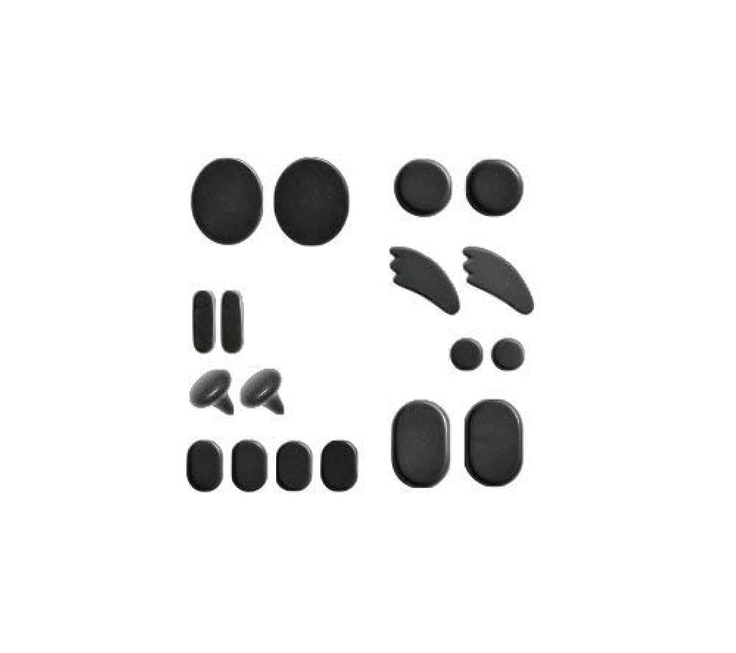理想的満員動的ホットストーン フェイシャルセット 成形 玄武岩 フォンタナ [ ホット ストーン ストーンヒーター スパ ロミロミ ハワイ ハワイアン マッサージ ]