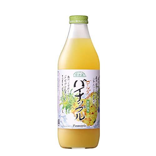 順造選 ゴールデンパイナップル (果汁100%) 1L 1本