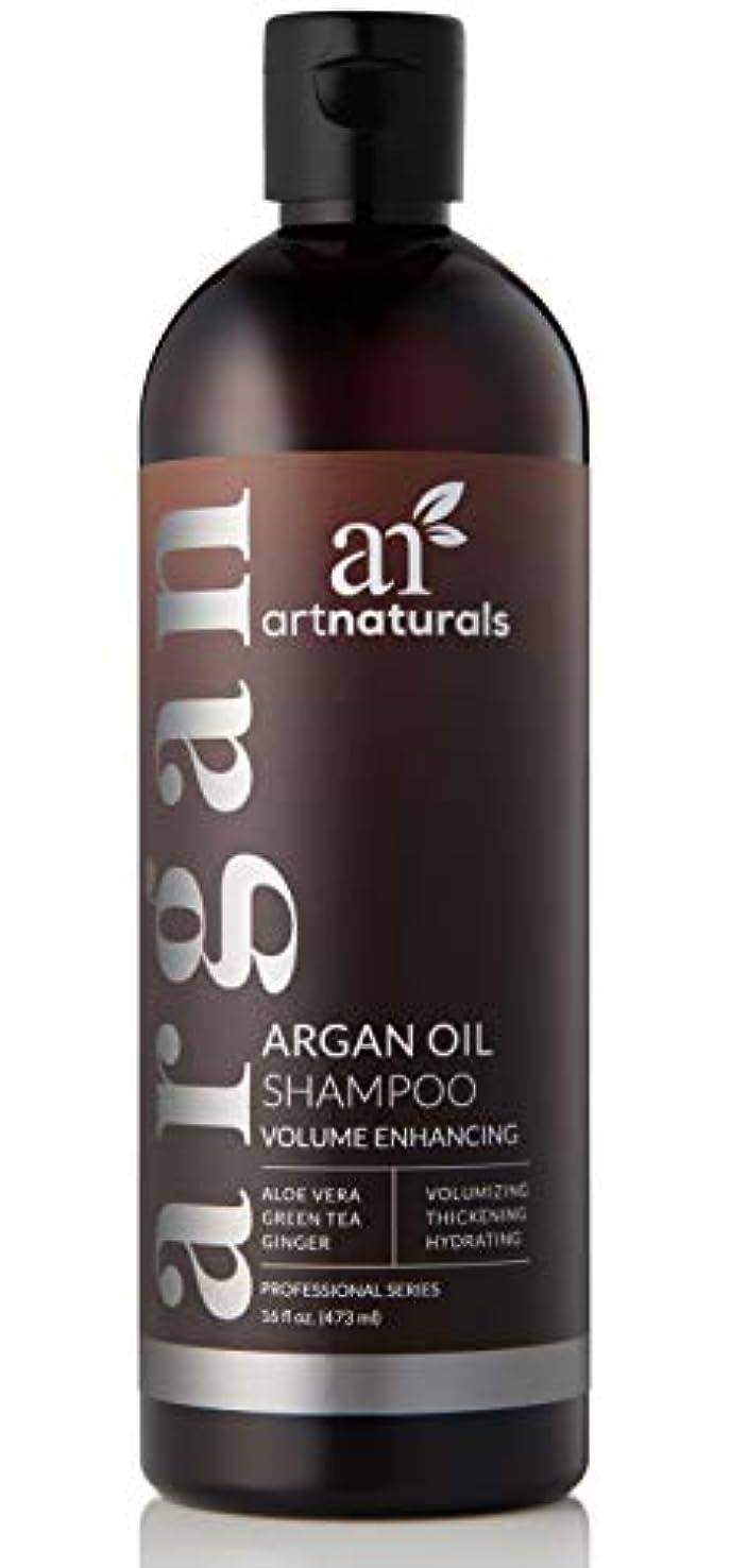 天皇ファイター落ち着いたアートナチュラルオーガニックアルガンオイル抜け毛予防シャンプー16オズ - 早期の抜け毛のための硫酸無料-Best治療、ビオチンと男性& Women-のため部分的に禿げている頭の間伐&ファーストサイン3ヶ月サプライ Art Naturals Organic Argan Oil Hair Loss Prevention Shampoo 16 Oz - Sulfate Free -Best Treatment for Premature Hair Loss, Thinning & First Signs of Balding for Men & Women- With Biotin 3 Months Supply
